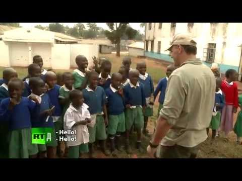 Once upon a time in Africa: Russian father of 32 kids visits Africa to see his 33rd son