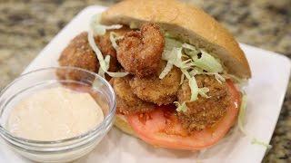 How to Make Fried Shrimp Poboys!