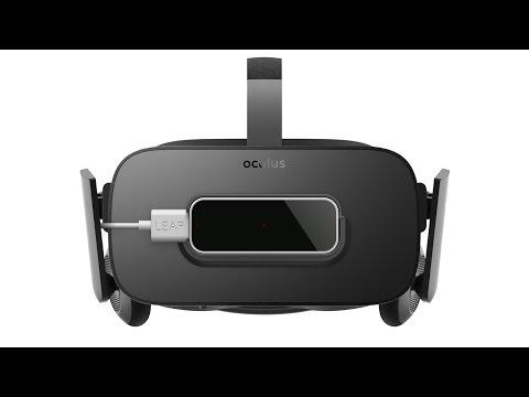 Leap Motion VR Mount + Oculus Rift CV1