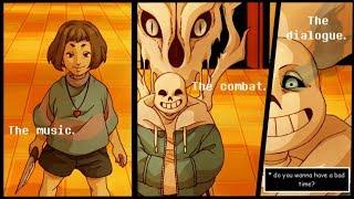【 Undertale Animation Dubs #95 】Epic Undertale Comic dub Compilation