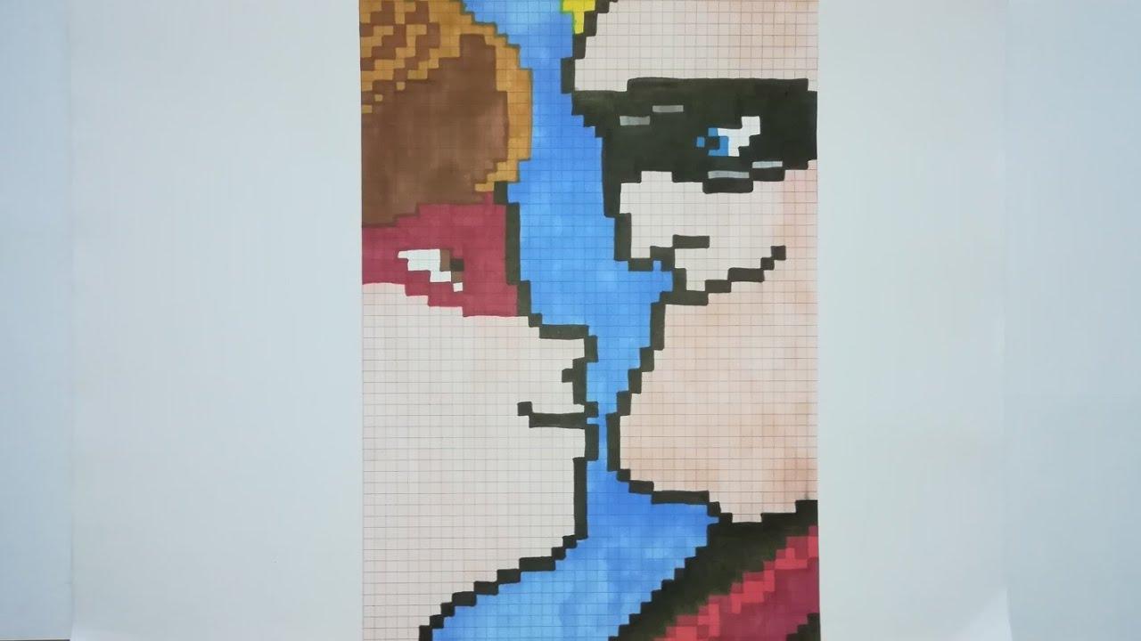 Pixel Art Elastigirl Et Mr Indestructible