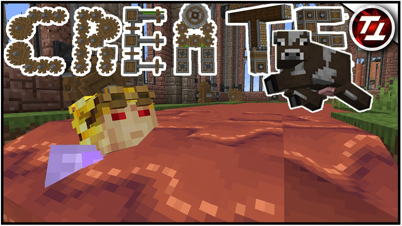 Chocolate Moats and Flying Cows! - Minecraft Create Mod