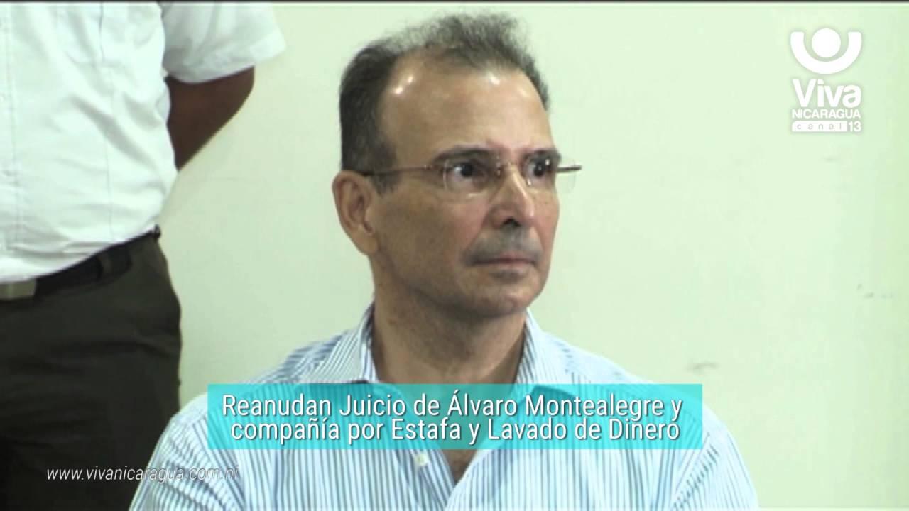 Reanudan Juicio contra Álvaro Montealegre y compañía por Estafa y ...