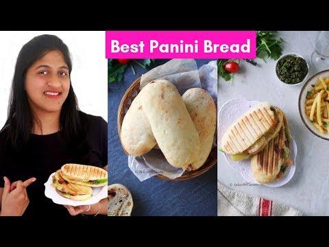 Panini Bread Recipe - Best Bread for Sandwich | Copycat Panera Bread