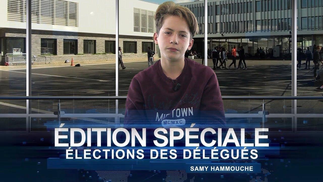 """Download Election des délégués de classe 2017 : édition spéciale du """"12.14"""", le JT du collège"""