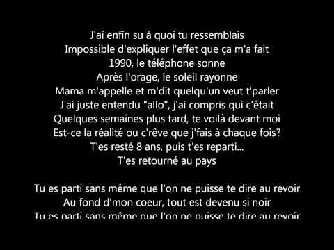 Sniper - Sans repère [Lyrics]