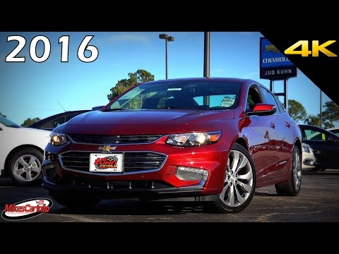 2016 CHEVROLET MALIBU PREMIER 2LZ - Ultimate In-Depth Look in 4K