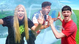 Download Unspeakable Trapped My Wife & Me In A GIANT Bubble Tent... Mp3 and Videos