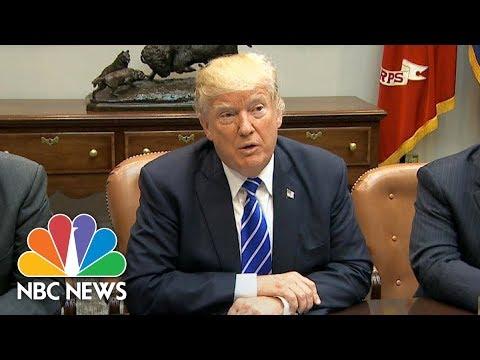 President Donald Trump Announces Puerto Rico Visit To Survey Hurricane Damage | NBC News