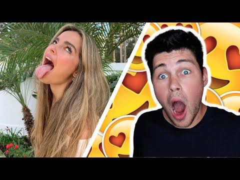 Reacting To Addison Rae's TikTok's (Sexual Version)