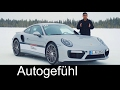 Porsche 911 Turbo vs GT3 RS vs Cayman ICE REVIEW feat. Walter Röhrl - Autogefühl