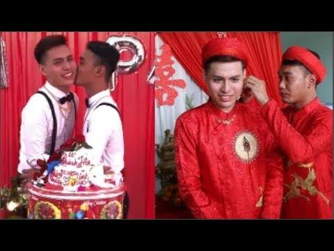 Lễ cưới cặp đồng tính nam gây chao đảo cộng đồng mạng