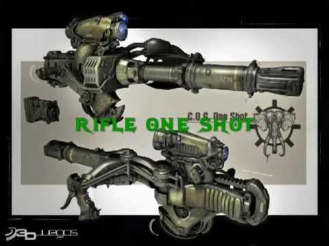 gears of war 3 armas
