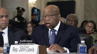Repeat youtube video Rep. John Lewis Testifies on the Nomination of Senator Sessions to be Attorney General