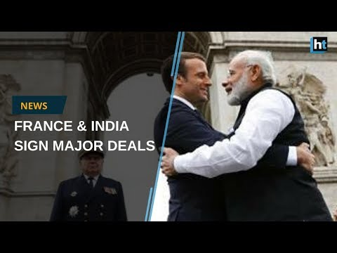 French President Emmanuel Macron visits India, promising major deals with Modi