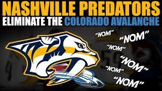 Nashville Predators Eliminate the Colorado Avalanche