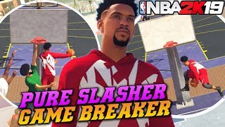 NBA 2K19 Park: Gamebreaker Windmill Oop! Between The Legs Dunk! NBA 2K19 Park Gameplay