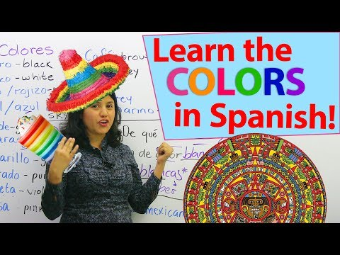 Learn how to say the colors in Spanish