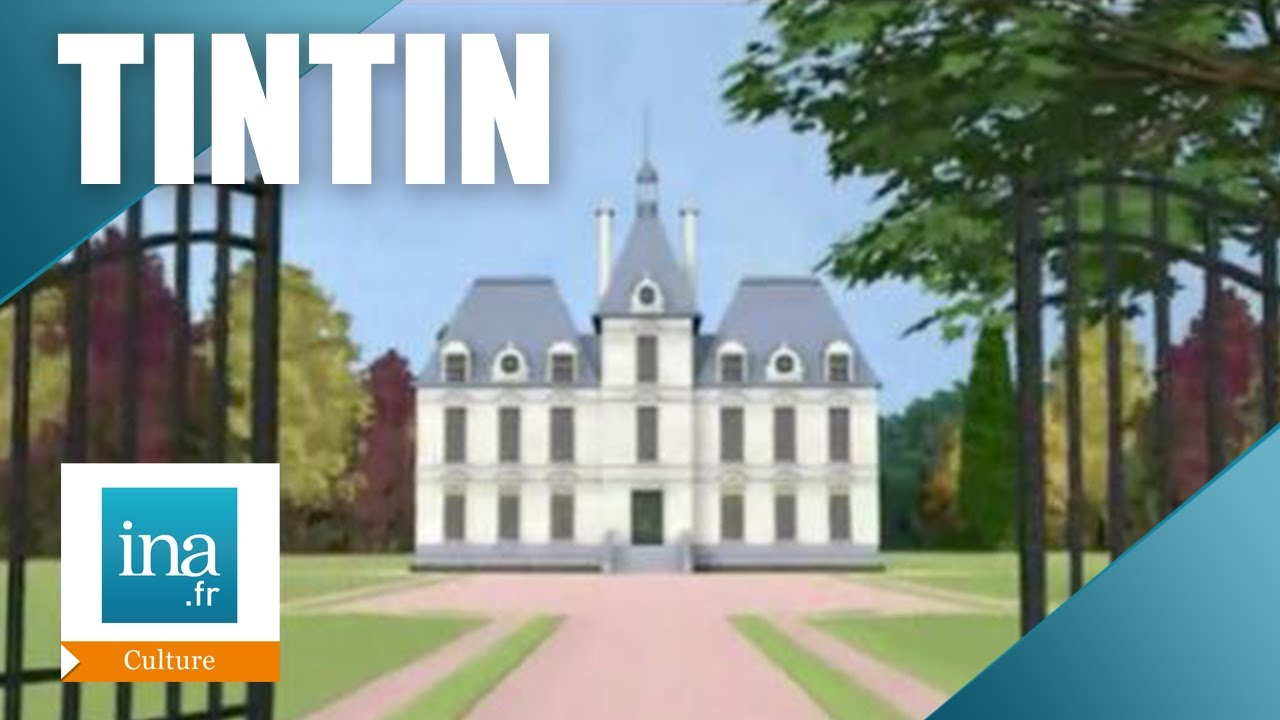 tintin et le ch teau de cheverny archive ina youtube. Black Bedroom Furniture Sets. Home Design Ideas