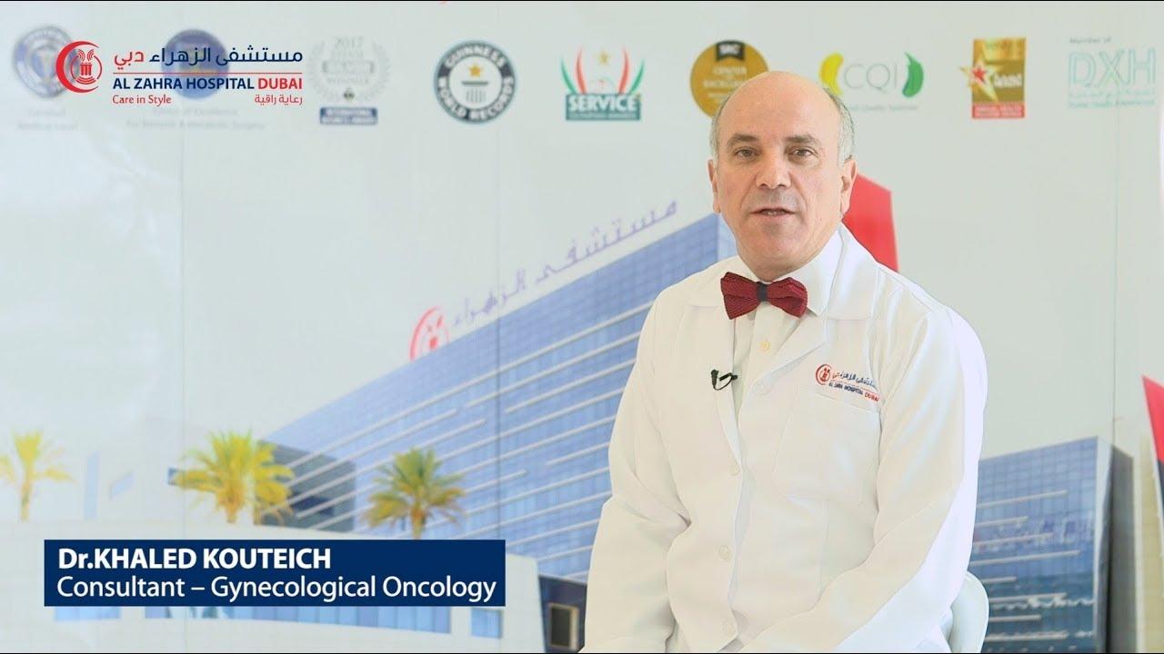 Dr  Khaled Kouteich, Consultant Gynecological Oncologist