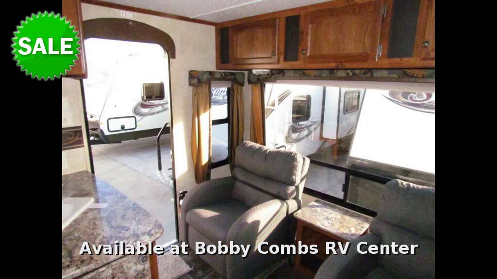 2014 Keystone Hideout 26RLSWE Travel Trailer Rear Living Room In El Cajon CA