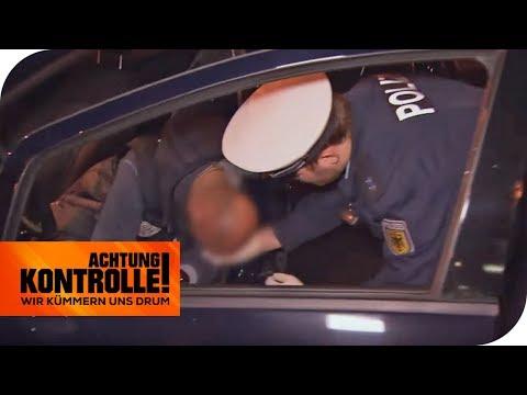 Volltrunken am Steuer! Hat der Fahrer eine Alkoholvergiftung? | Achtung Kontrolle I kabel eins