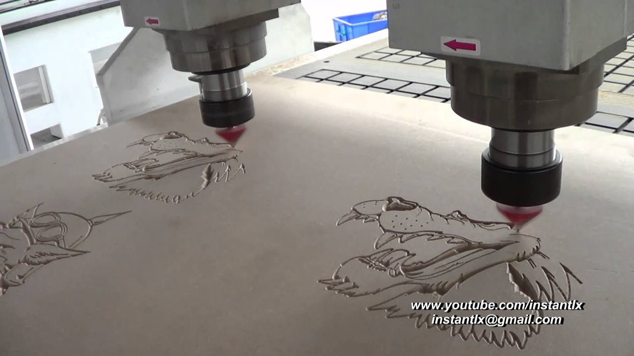 How To Use Dsp To Control A Double Heads Cnc Router China