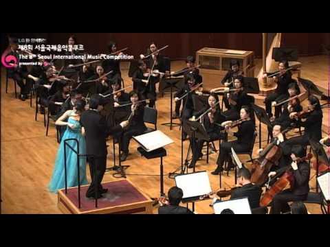 """2012 Seoul International Music Competition """"1st Prize_Fumika MOURI"""""""