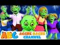 3D Halloween Songs For Kids in Hindi | Zombie का खतरनाक परिवार | Acche Bache Channel | ABC Hindi