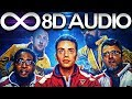 Logic - Lord Willin' 🔊8D AUDIO🔊