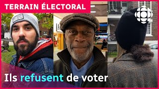 Ils refusent de voter