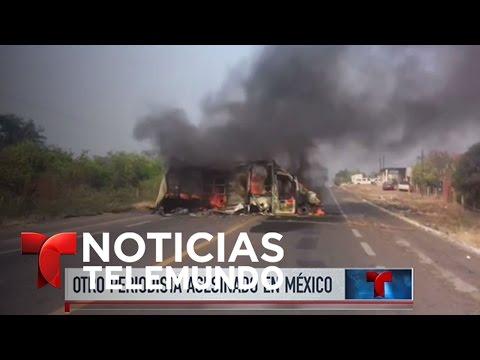 Noticias Telemundo, 15 de mayo de 2017   Noticiero   Noticias Telemundo