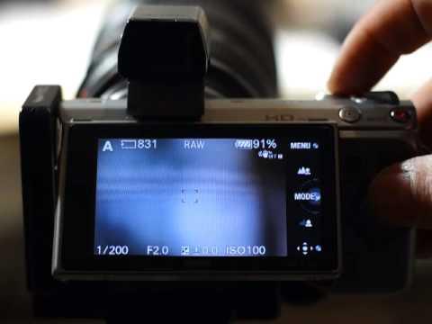 Metabones SA III on NEX with Canon EF 135 f/2 L USM