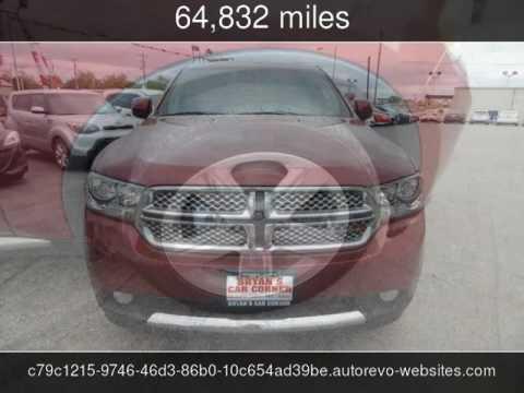 2013 Dodge Durango Sxt Used Cars Lawton Ok 2017 06 05 Youtube