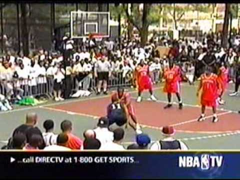EBC at Rucker park 2002 Def Jam vs  Murder Inc (feat. Skip to my Lou)