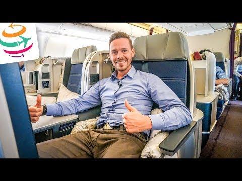 Malaysia Airlines Business Class (ENG) A330-300 | GlobalTraveler.TV