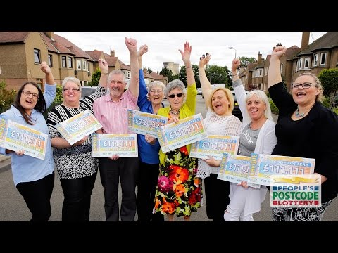 Postcode Millions - FK3 9AY - Grangemouth - 30 August 2015