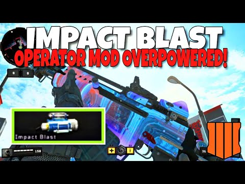 *NEW* S6 STINGRAY IMPACT BLAST OPERATOR MOD IS OVERPOWERED! BEST OPERATOR MOD in BLACK OPS 4! (BO4)