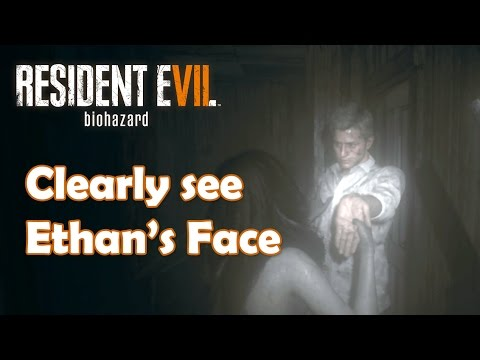 Resident Evil 7 Ethan S Face Ingame Very Clear Youtube