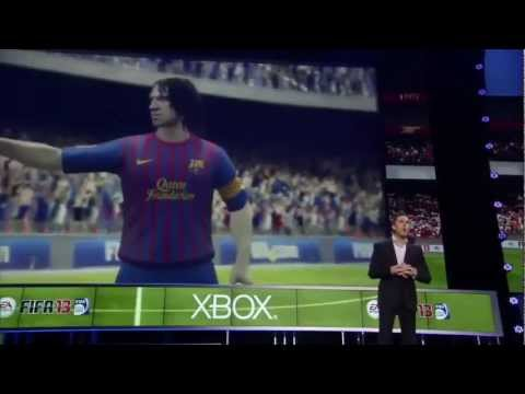 E3 Official Kinect Gameplay: Fifa 13