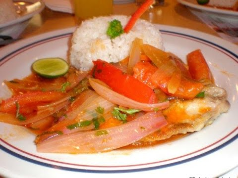 Escabeche De Pescado, Receta Peruana, Estilo Peruano (Peruvian Dish) Peruvian Food