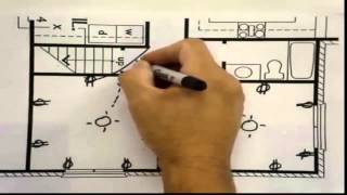 How to Layout Electrical Wiring for 2 Bedrooms -BuildingTheWay - YouTube   Receptacles Wiring Diagram For Bedroom      YouTube