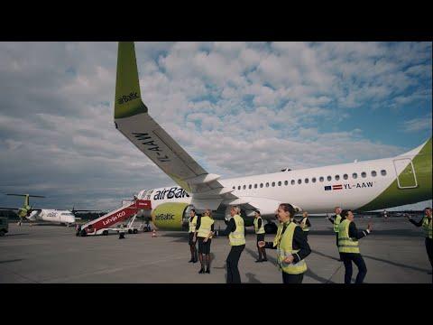 airBaltic participates in Jerusalema Dance Challenge