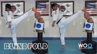Taekwondo training tips: Blindfold Kick (taekwonwoo)