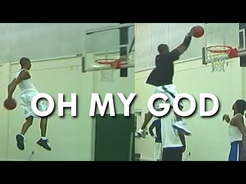 We SHUT DOWN a GYM! Behind the BACK DUNK from the FREE THROW LINE!