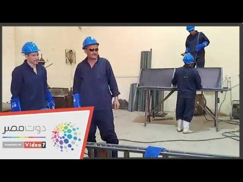 صنع فى سجن طرة.. شاهد.. مصنع لإنتاج الموبيليا  - 18:54-2018 / 10 / 21