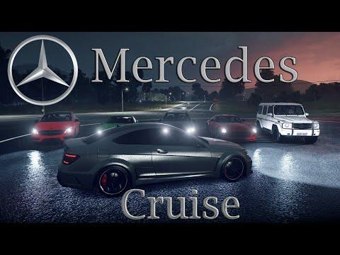 Forza Horizon 2 - Mercedes Benz Cruise (SLS, C63, E63, G65, A45, SL65)