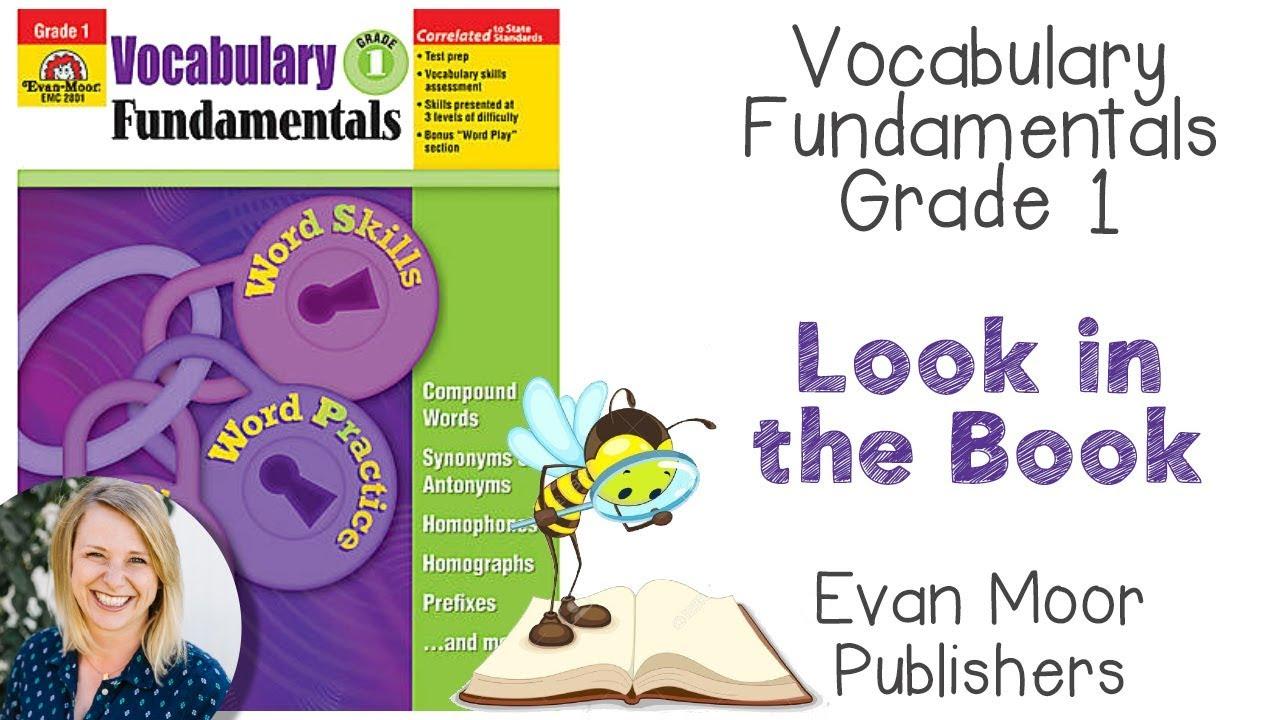 Look in the Book || Vocabulary Fundamentals Grade 1 | Evan Moor