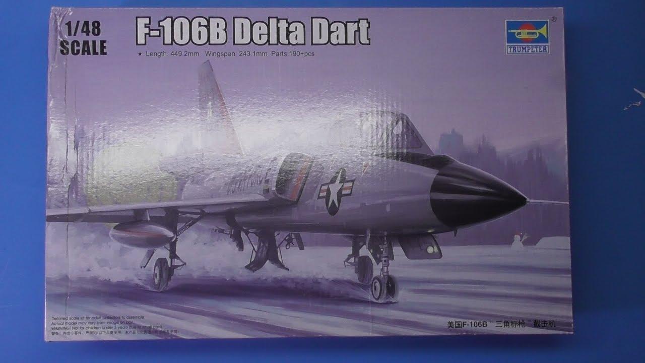 Sprue Review Trumpeter 1/48 F-106B Delta Dart