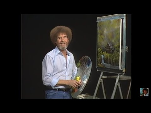 Resim Sevinci -The Joy of Painting with Bob Ross #13